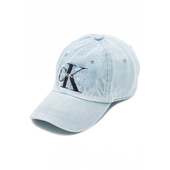 Calvin Klein Icy Blue Denim Hat d96ee3ff6ac